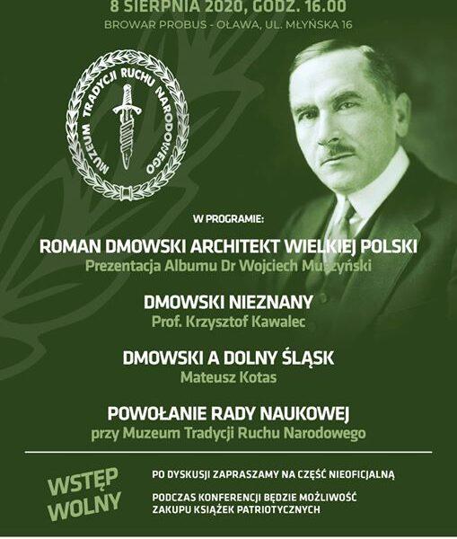 Dmowski nieznany – relacja wykładu prof. Krzysztofa Kawalca, współfinansowanego przez Kancelarię Jarosława Litwina
